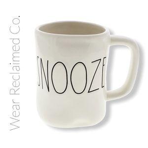 """RAE DUNN Coffee Mug """"SNOOZE"""""""